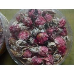 NOUVEAU - Boutons de roses cristallisées
